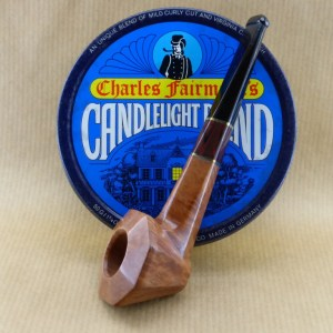 "présentation of my small briar pipe ""lady bulldog"""