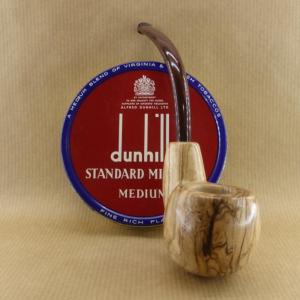 "presentation of my ""Oom spoon"". very nice tobacco pipe worked in olive wood with oom shape"