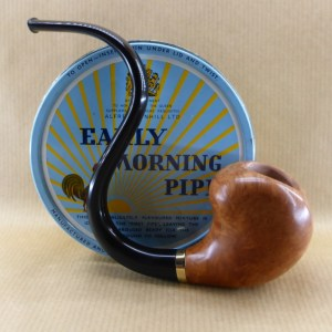 "présentation of my briar pipe ""horny curves"""