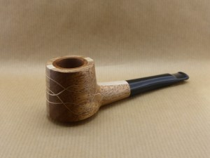 Left view of my mahogany pipe and ripple in light beech