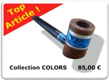 Top Article : Pipe à Tabac de la collection COLORS No1