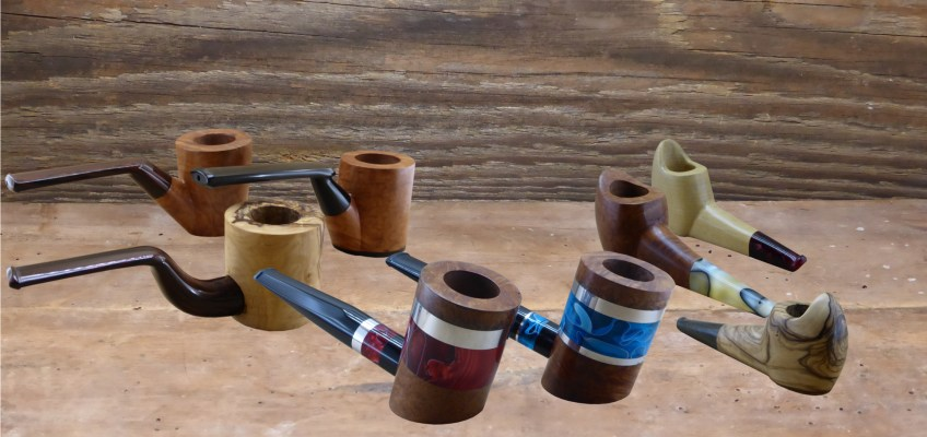 """The """"Collections"""" of the workshop Gilles Art'n Smoke."""