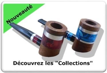 Découvrez mes collection de pipe à tabac colorées.