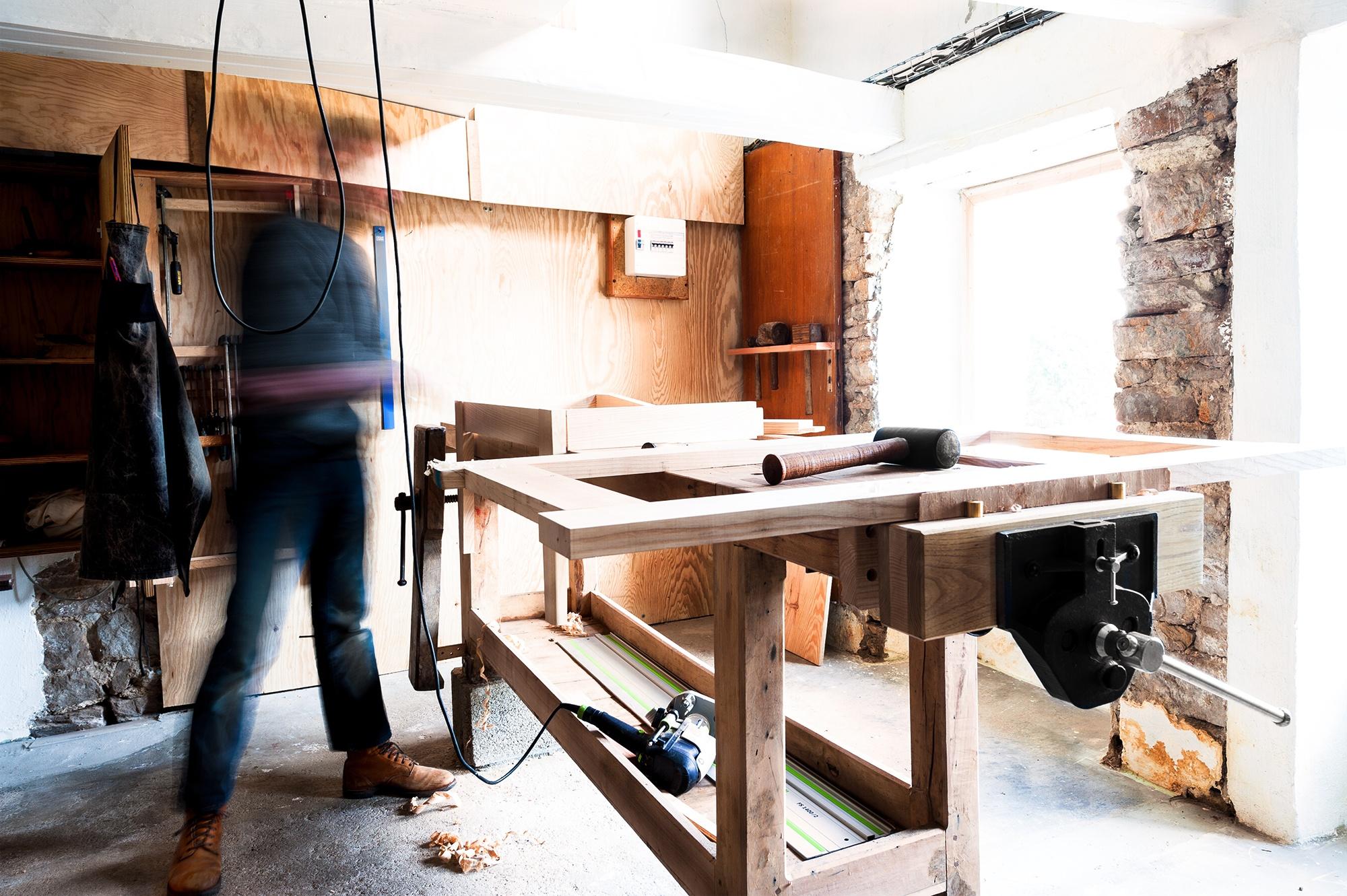 Atelier Gourlaouen établi - Corinne Bultel