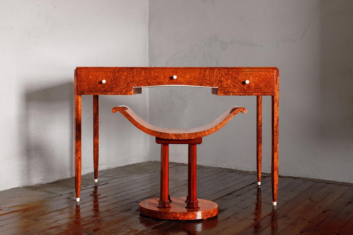 Atelier Gourlaouen secrétaire chaise