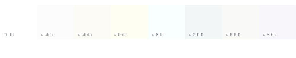 Bien choisir la couleur de son logo : le blanc