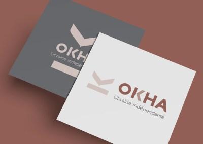Identité visuelle Okha