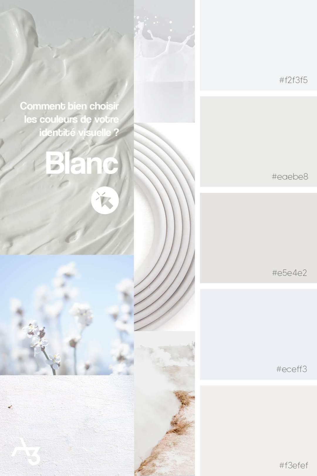 Palette blanc