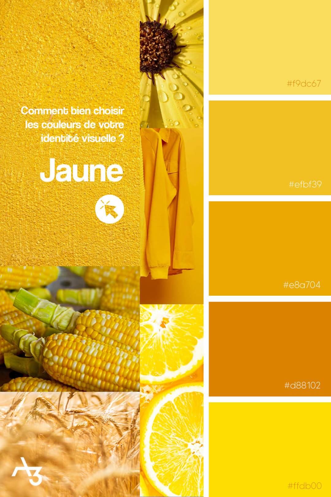 Palette jaune
