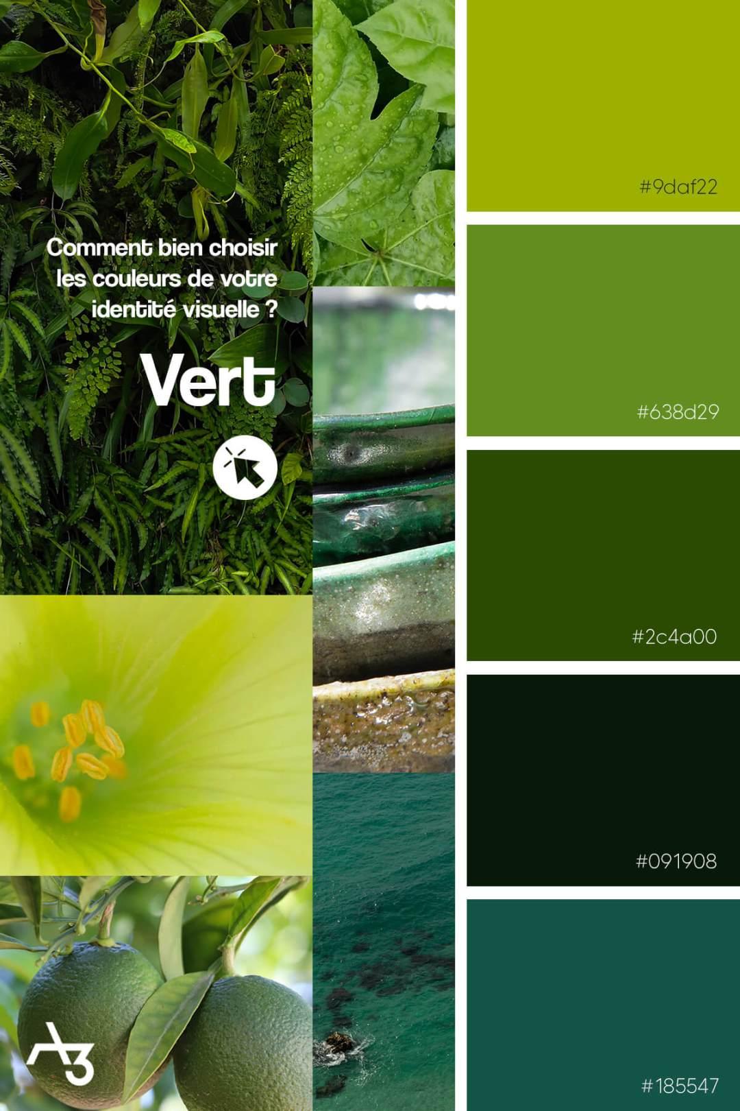 Palette vert