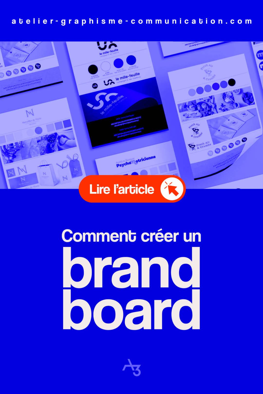 comment créer un brand board