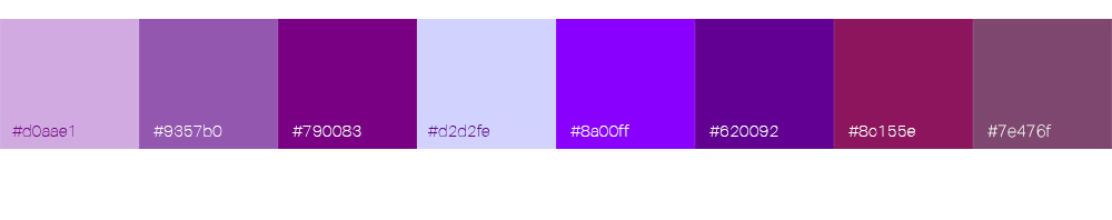 Bien choisir la couleur de son logo : le violet