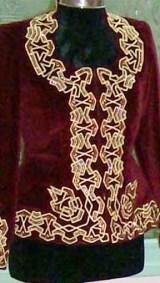 Costume (1) Frise Géométrique (Devant) Atelier Khatt