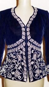 Costume (8) Arabesque du  bas remplis (Devant ) Atelier Khatt