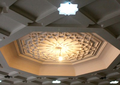 Décoration Mauresque de l'Hotel Grand bassin