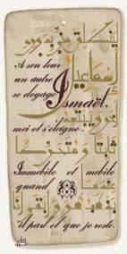 Caligraphie Texte de Mohammed Dib (10)