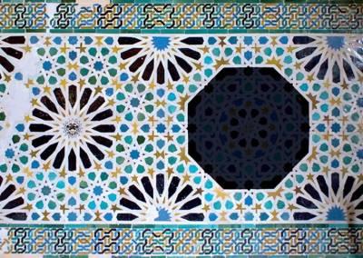 Geometría árabe: el lenguaje ornamental