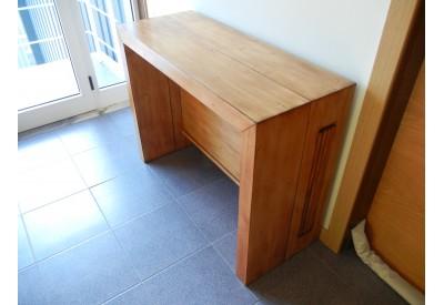 table extensible en chene massif avec 4 allonges