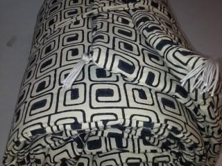 sofacover noir:blanc