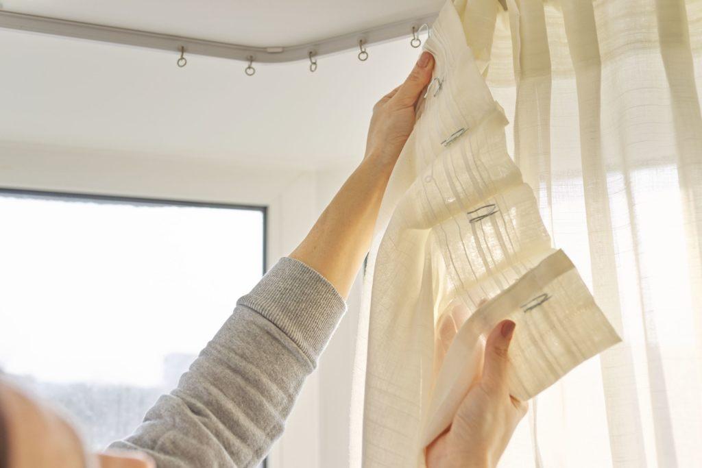 types de fixations pour rideaux