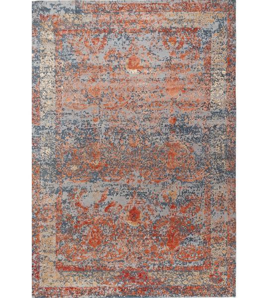tapis contemporain dream beige rouge