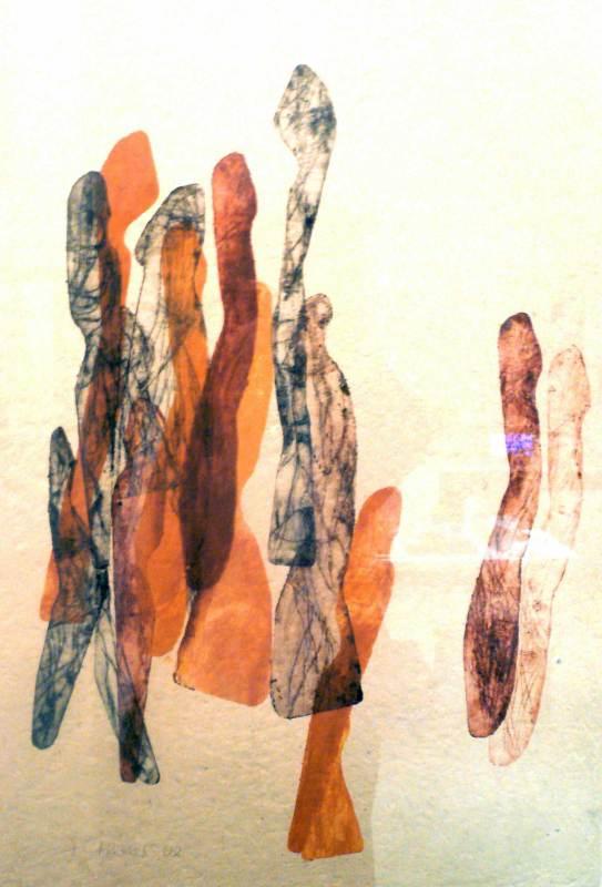 Begegnung, 60x80