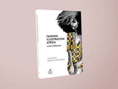 Fashion Illustration Africa A book about a new generation of African fashion illustrators by African art book publishers Shoko Press