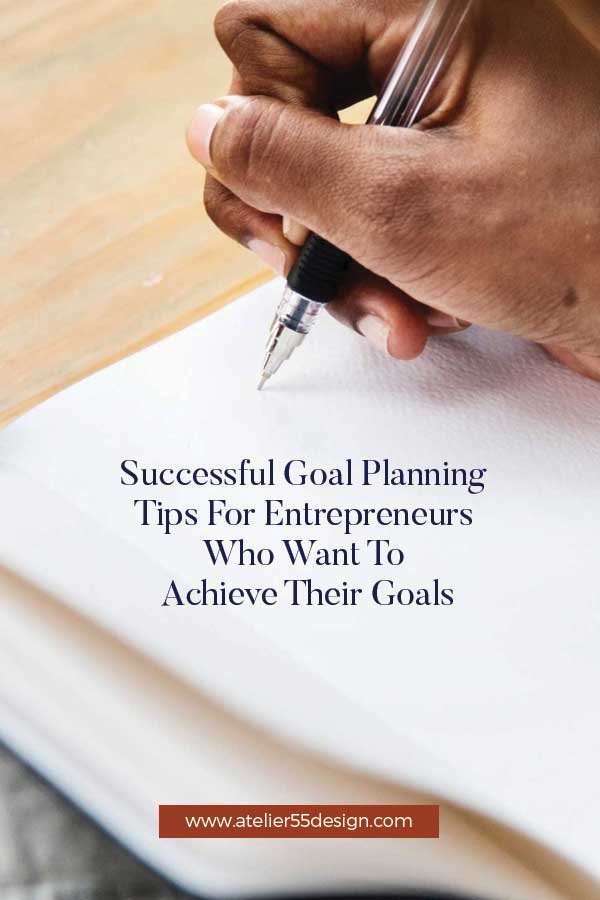 Successful goal planning for creative business owners