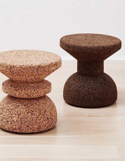Wiid Africa Cork Stools Brown