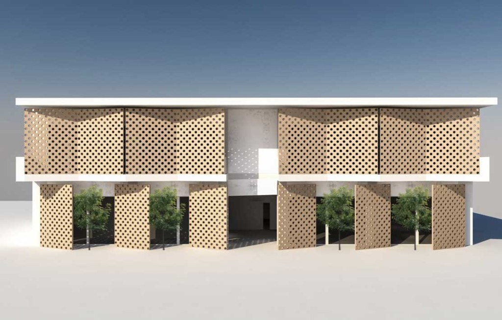 DO Architecture Las Anood Public Library Somalia