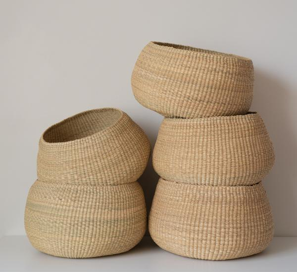 Twenty One Tonnes Baskets Woven in Northern Ghana
