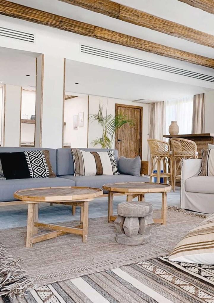 Le Sidi Boutique Hotel Egypt Villa Living Room