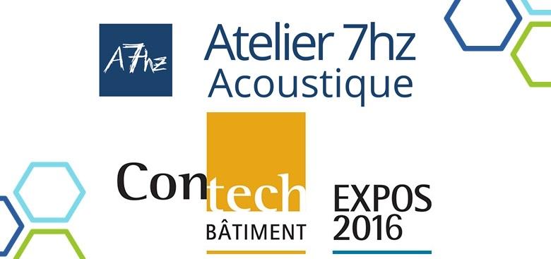 Atelier 7hz vous surprendra au Contech 2016 les 3 et 4 novembre prochain à l'espace #836!