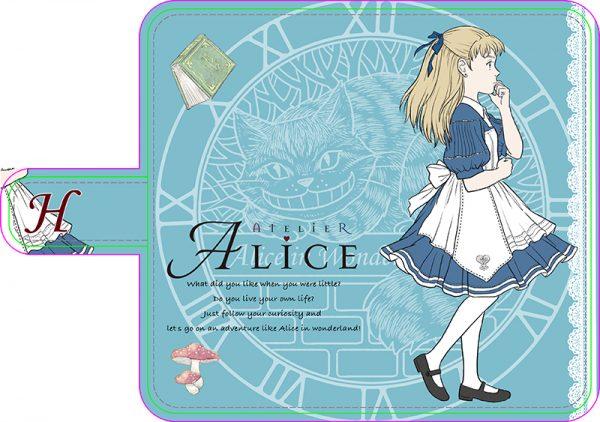 アリスのスマホカバー