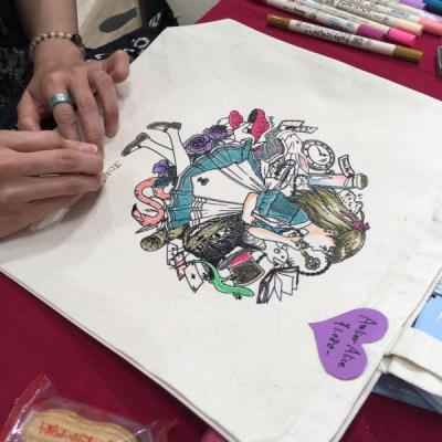 アリスの塗り絵
