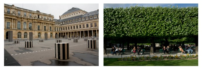 Palais Royal and Notre DamePalais Royal and Notre Dame