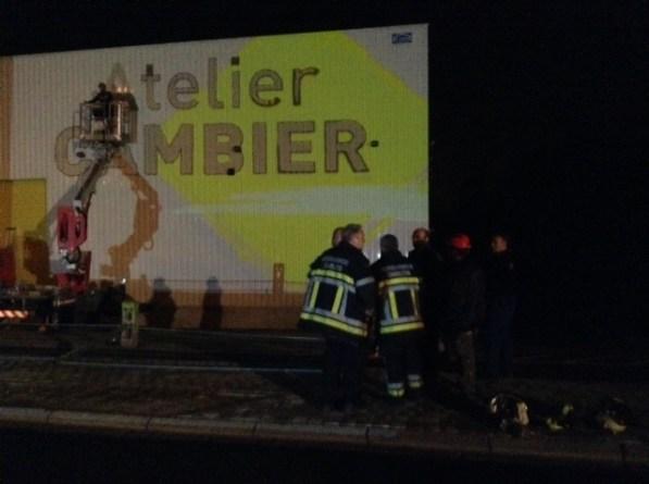 Analyse de la situation par les pompiers