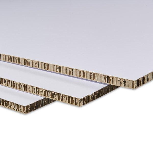 Carton Alveole Blanc 10 Mm 14 Plaques 225x122 Cm Lighboard