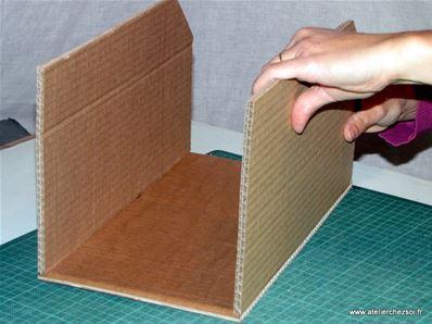 tuto casiers de rangement en carton