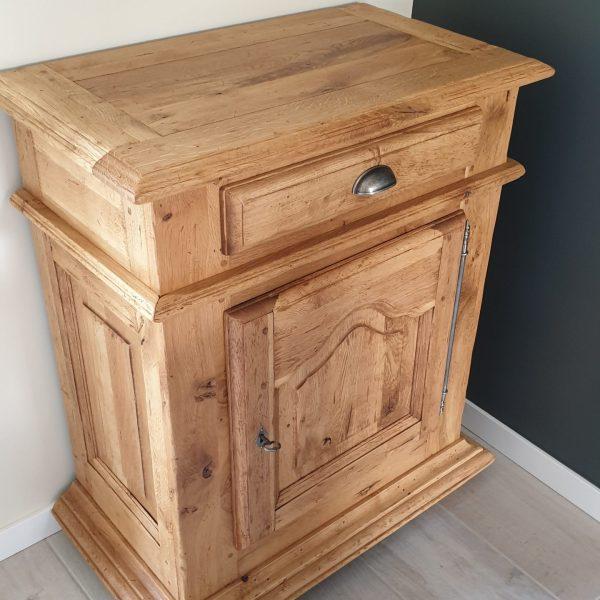 confiturier en bois brut
