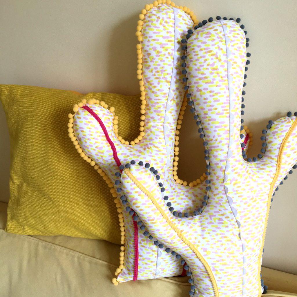 couture coussin cactus mercerie atelier de la creation