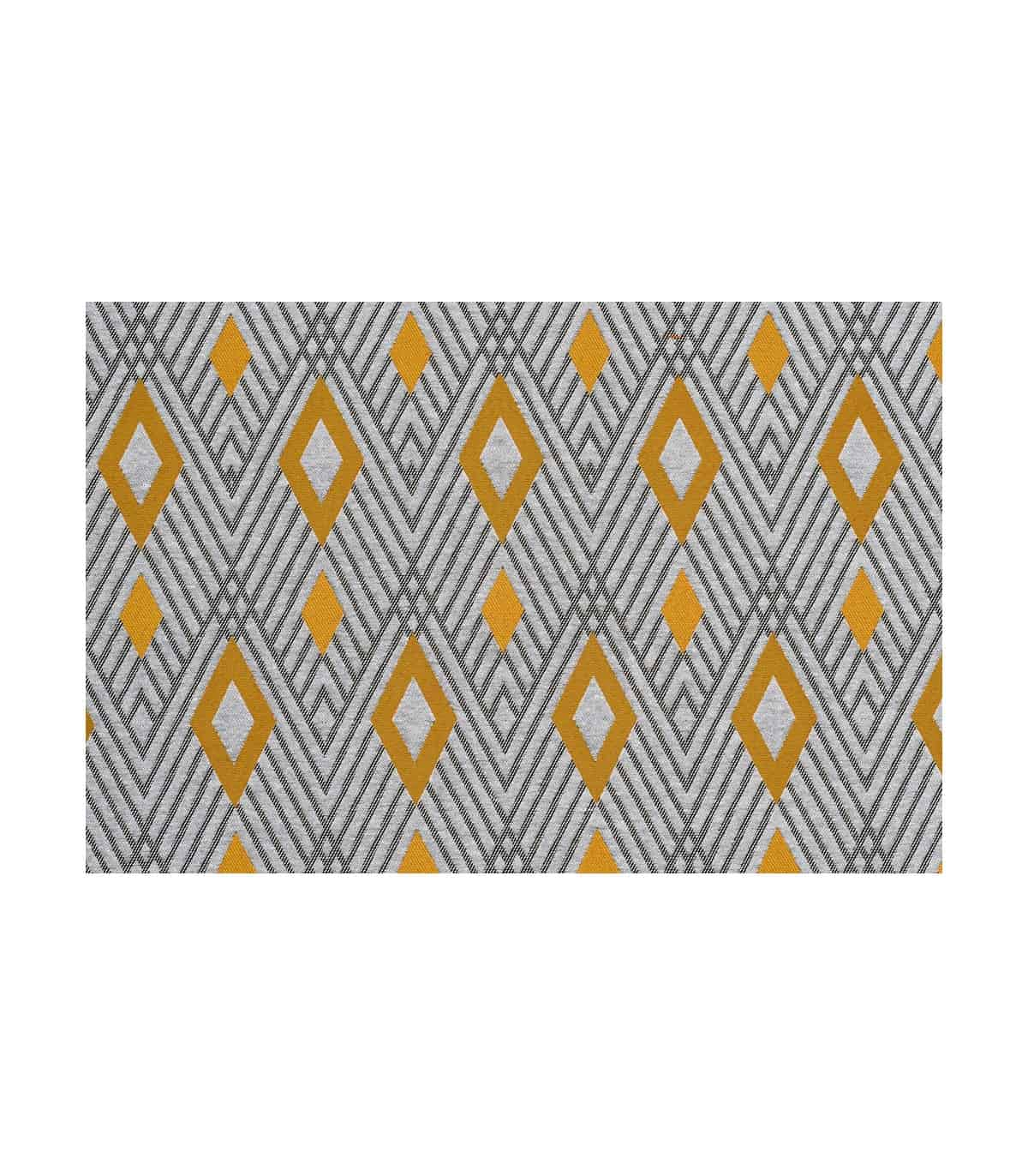 rideau recycle motif losange