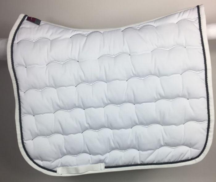 tapis de dressage blanc wash animo