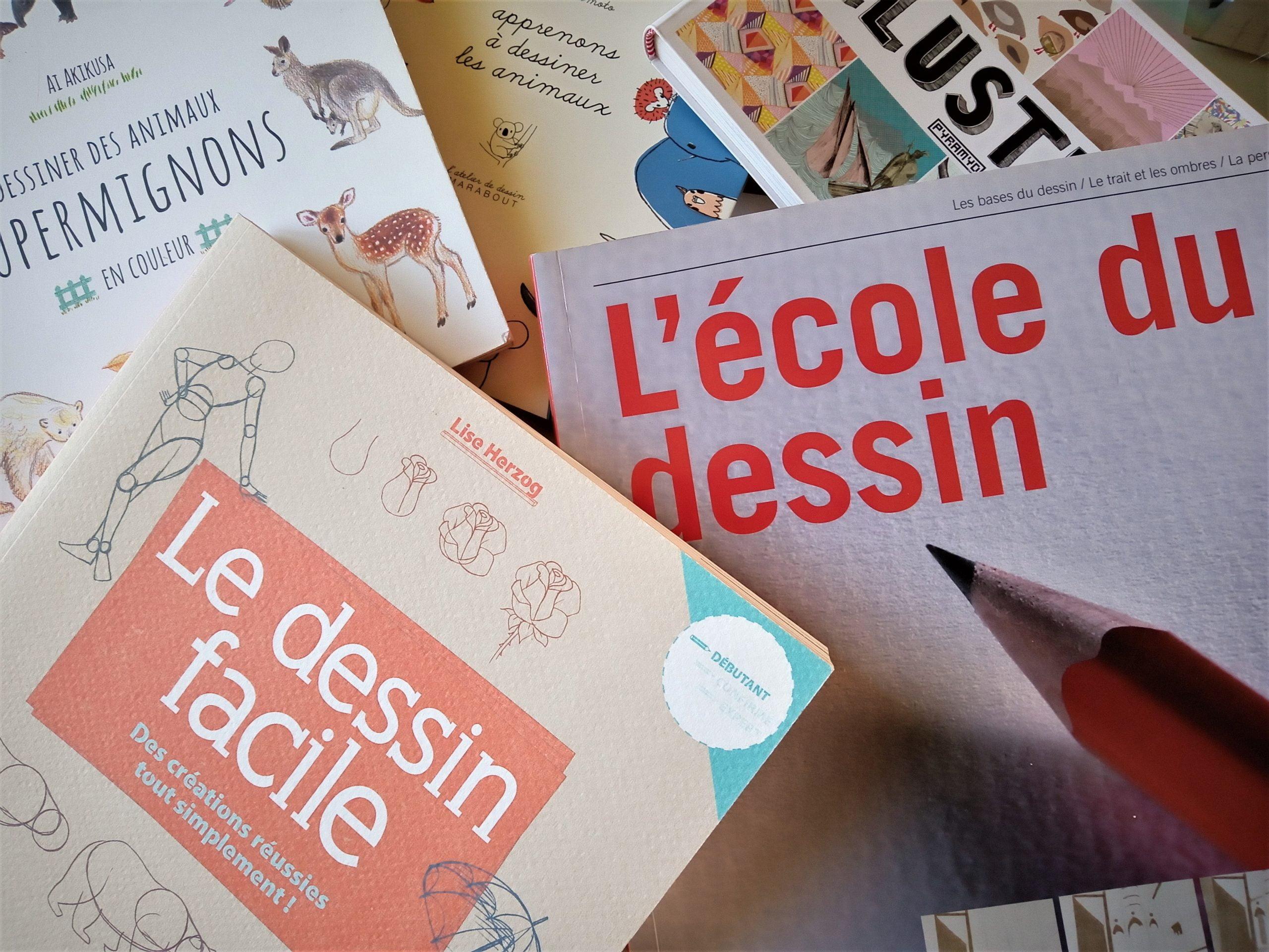 livres de référence - apprendre le dessin