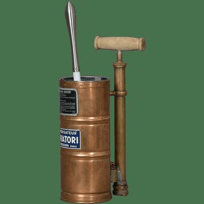Sulfateuse 1940 Porte balai WC fantaisie