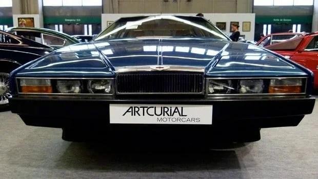 Aston Martin Lagonda de 1985 de l'ancien président gabonais Omar Bongo