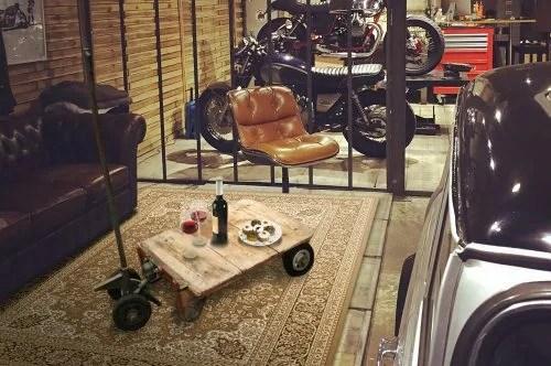 Objet Deco Loft Ancien Chariot Factory Vintage De Garage