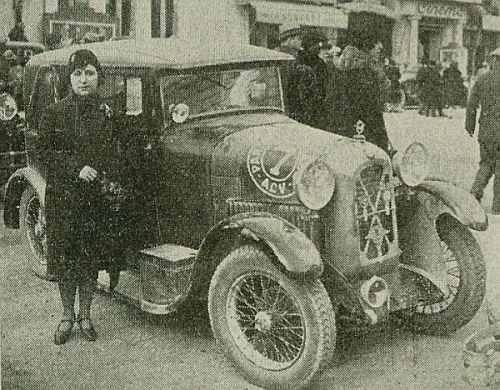 LIETARD Rallye Paris Saint Raphael 1929 Atelier du Loft Mobilier avec pièces auto