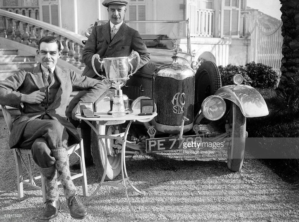 1926 Vicotr Bruce sur AC 6 1990 cc