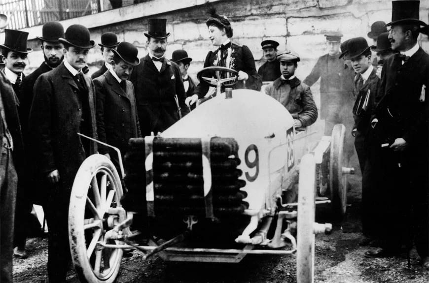 Camille du Gast la pionnière des femmes pilotes de l'histoire de France